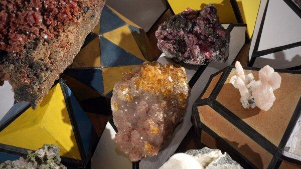 Mineralogie-Modelle